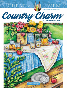 Country Charm Coloring Book