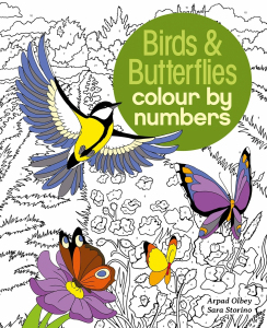 Birds & Butterflies Colour by Numbers