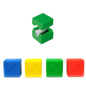 Cubic Afila Sharpener. With a container