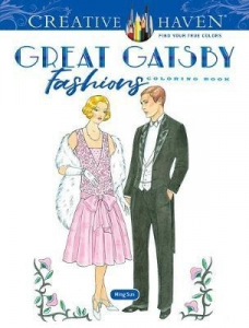 Great Gatsby Fashions Coloring Book