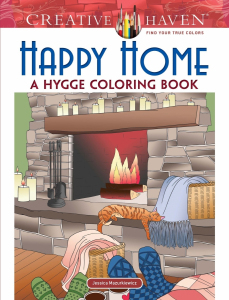 Happy Home: A Hygge Coloring Book