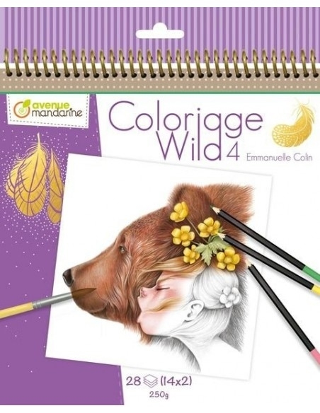 Coloriage Wild 4