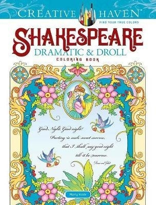 Shakespeare Dramatic & Droll Coloring Book