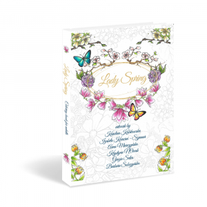 Lady Spring Coloring book