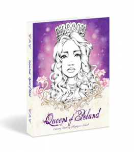 Queens of Poland Coloring Book. Edycja numerowana, z autografem