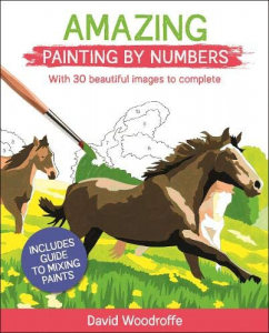 Amazing Painting by Numbers. With 30 Beautiful Images to Complete