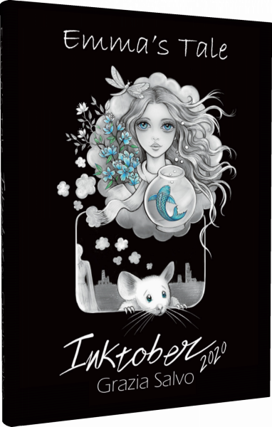 Emma\'s Tale. Inktober 2020 coloring notebook