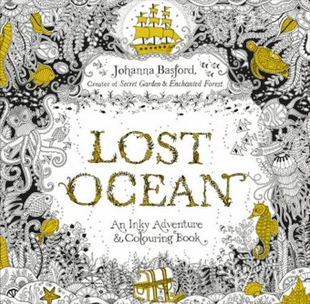 Lost Ocean An Inky Adventure & Colouring Book
